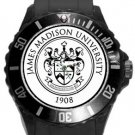 The James Madison University Plastic Sport Watch In Black