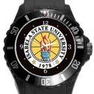 Isabela State University Plastic Sport Watch In Black
