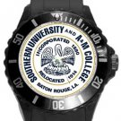 Southern University and A&M College Plastic Sport Watch In Black