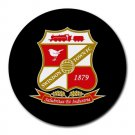 Swindon Town FC Heat-Resistant Round Mousepad
