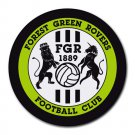 Forest Green Rovers FC Heat-Resistant Round Mousepad