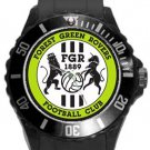 Forest Green Rovers FC Plastic Sport Watch In Black