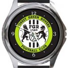 Forest Green Rovers FC Round Metal Watch