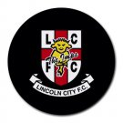 Lincoln City FC Heat-Resistant Round Mousepad