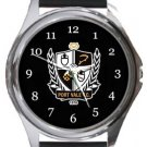 Port Vale Football Club Round Metal Watch