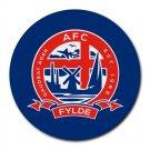 AFC Fylde Heat-Resistant Round Mousepad