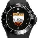 London Bees Plastic Sport Watch In Black