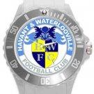 Havant & Waterlooville FC Plastic Sport Watch In White