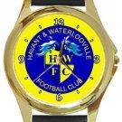Havant & Waterlooville FC Gold Metal Watch