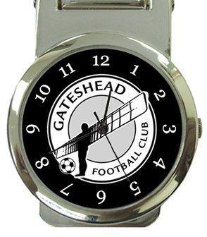 Gateshead FC Money Clip Watch