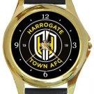 Harrogate Town FC Gold Metal Watch