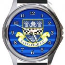 Eastleigh FC Round Metal Watch