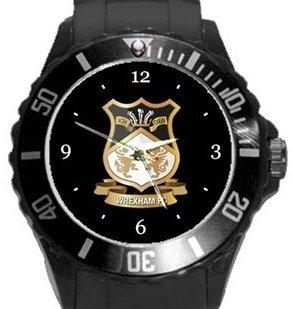 Wrexham FC Plastic Sport Watch In Black