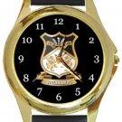 Wrexham FC Gold Metal Watch