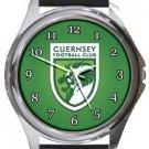Guernsey FC Round Metal Watch