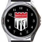Bath City FC Round Metal Watch