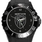 Merthyr Town FC Plastic Sport Watch In Black