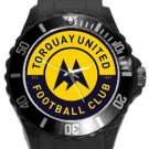 Torquay United FC Plastic Sport Watch In Black