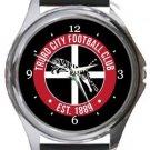 Truro City FC Round Metal Watch