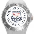 Oxford City FC Plastic Sport Watch In White