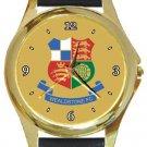 Wealdstone FC Gold Metal Watch
