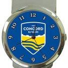 Concord Rangers FC Money Clip Watch