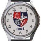 Hampton & Richmond Borough FC Round Metal Watch