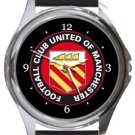 Football Club United of Manchester Round Metal Watch