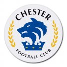 Chester FC Heat-Resistant Round Mousepad