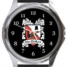 Darlington FC The Quakers Round Metal Watch