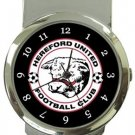 Hereford United FC Money Clip Watch
