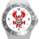 Kidderminster Harriers FC Plastic Sport Watch In White