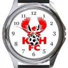 Kidderminster Harriers FC Round Metal Watch