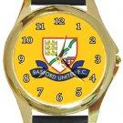 Basford United FC Gold Metal Watch