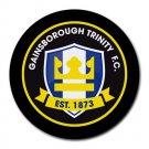 Gainsborough Trinity FC Heat-Resistant Round Mousepad