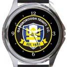 Gainsborough Trinity FC Round Metal Watch