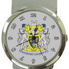 Stockport County FC Money Clip Watch