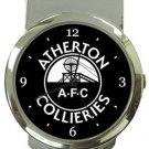 Atherton Collieries AFC Money Clip Watch