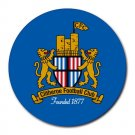 Clitheroe FC Heat-Resistant Round Mousepad