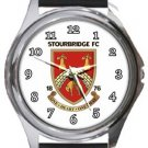 Stourbridge Football Club Round Metal Watch
