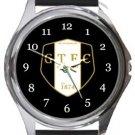 Grantham Town FC Round Metal Watch