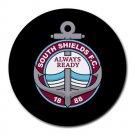 South Shields FC Heat-Resistant Round Mousepad