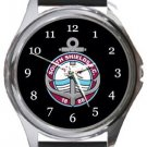 South Shields FC Round Metal Watch