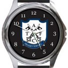 Arlesey Town FC Round Metal Watch