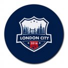 London City FC Heat-Resistant Round Mousepad
