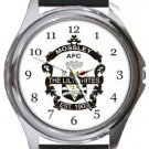 Mossley AFC Round Metal Watch