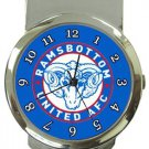 Ramsbottom United AFC Money Clip Watch