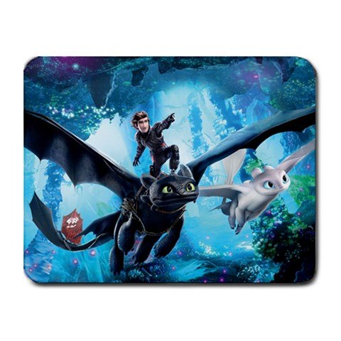 How To Train Your Dragon 3 Hidden World Heat-Resistant Mousepad