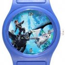 How To Train Your Dragon 3 Hidden World Blue Plastic Watch