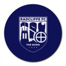 Radcliffe FC The Boro Heat-Resistant Round Mousepad